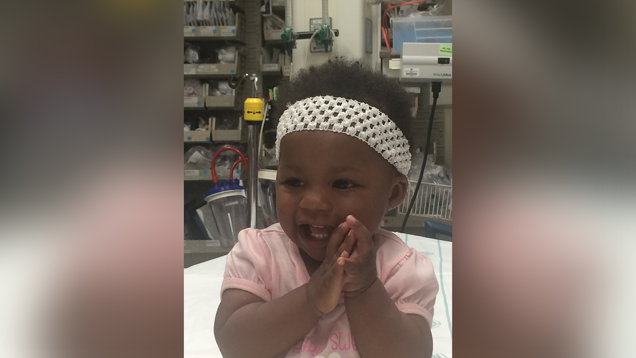 Police in the Charlotte area need help identifying this baby girl