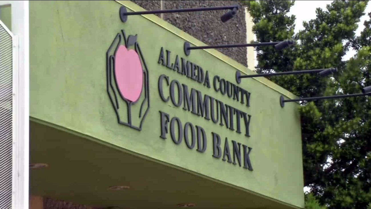 The Alameda County Community Food Bank is seen in this undated image.