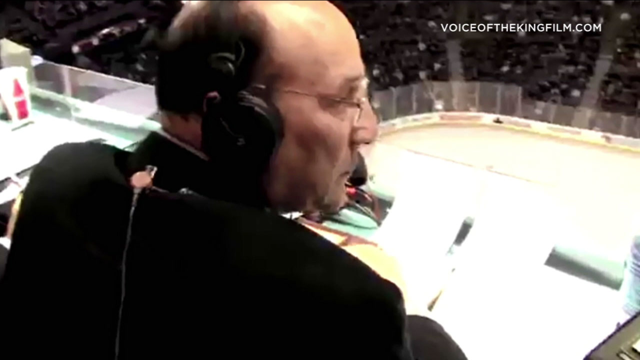 "Legendary Los Angeles Kings announcer Bob Miller is being celebrated in the new documentary ""Voice of the King."""