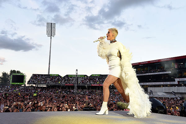 "<div class=""meta image-caption""><div class=""origin-logo origin-image none""><span>none</span></div><span class=""caption-text"">Katy Perry performs on stage during the One Love Manchester Benefit Concert at Old Trafford Cricket Ground on June 4, 2017 in Manchester, England. (Kevin Mazur/One Love Manchester/Getty Images for One Love Manchester)</span></div>"
