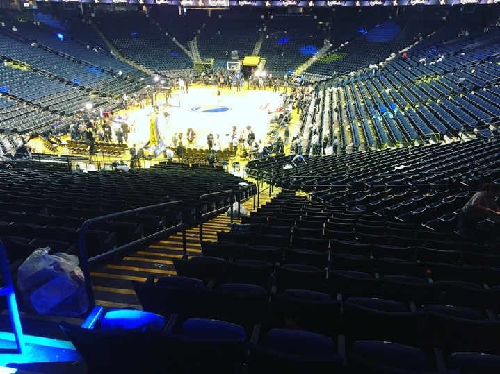 "<div class=""meta image-caption""><div class=""origin-logo origin-image none""><span>none</span></div><span class=""caption-text"">Oracle Arena is seen after game 2 of the NBA Finals in Oakland, Calif. on June 5, 2017. (KGO-TV)</span></div>"
