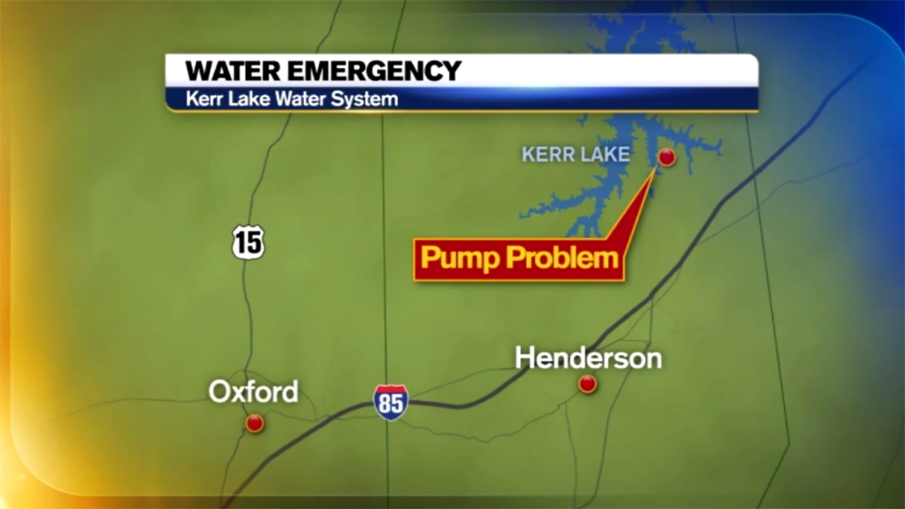 Kerr Lake Plant pump problems force water emergencies in