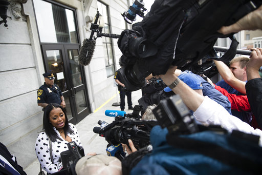 <div class='meta'><div class='origin-logo' data-origin='none'></div><span class='caption-text' data-credit='AP'>Bill Cosby arrives for his sexual assault trial with actress Keshia Knight Pulliam, right, at the Montgomery County Courthouse in Norristown, Pa., Monday, June 5, 2017.</span></div>