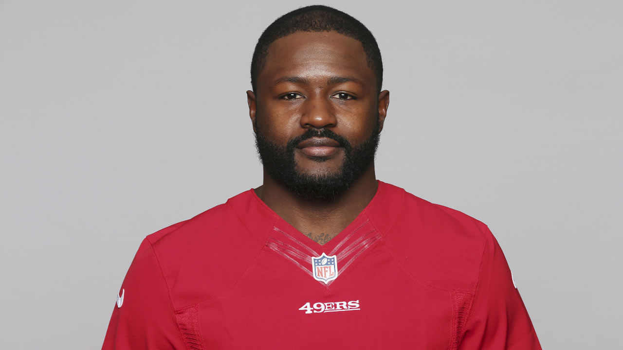This April 19, 2016 file photo shows Tramaine Brock, who played with the San Francisco 49ers NFL football team.