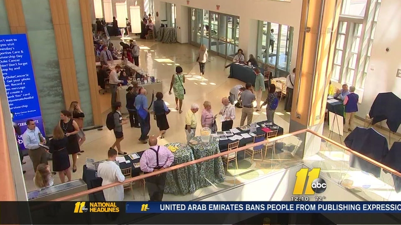 Duke Cancer Institute hosts spa day for patients, survivors