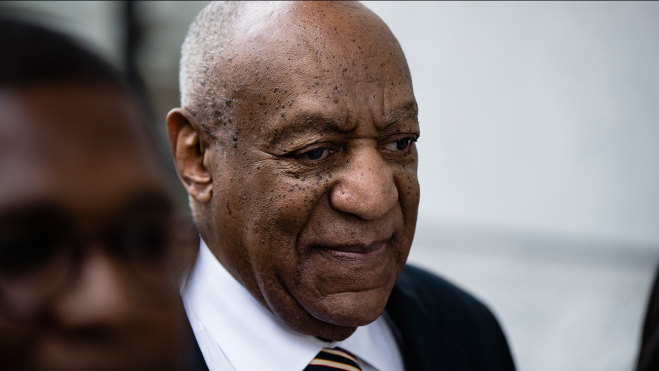 Bill Cosby arrives for his sexual assault trial at the Montgomery County Courthouse in Norristown, Pa., Monday, June 5, 2017.