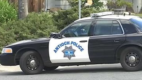 An Antioch police car is pictured in this undated file photo.