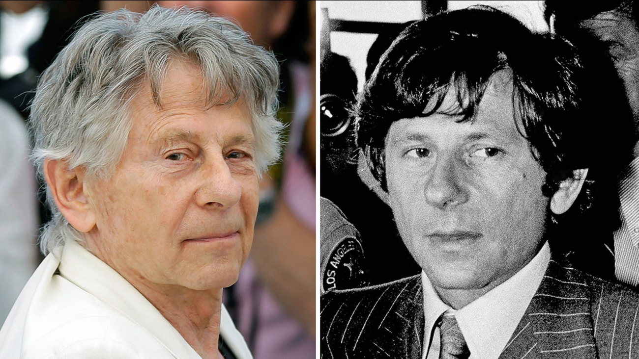 Director Roman Polanski, pictured in May 2017 and in August 1977, the year he was accused of sexual assault.