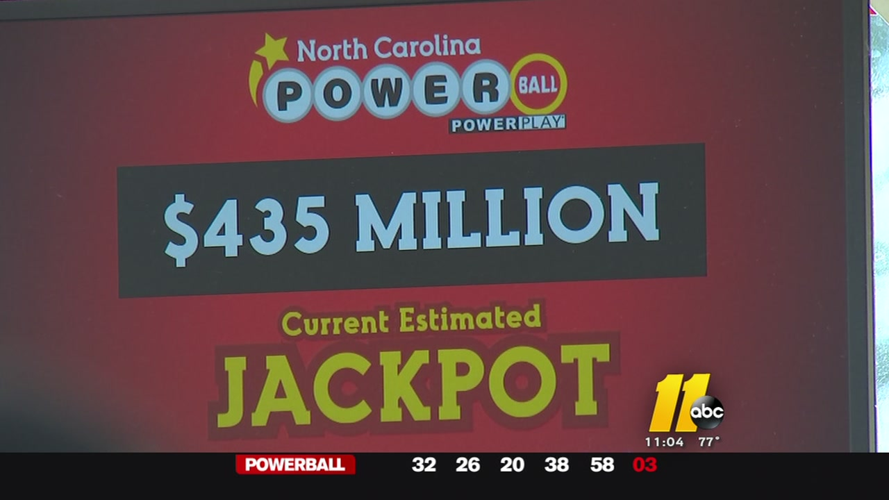 North Carolina Residents Rush To Buy Ticket For 435m Powerball