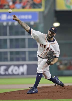 "<div class=""meta image-caption""><div class=""origin-logo origin-image ap""><span>AP</span></div><span class=""caption-text"">Houston Astros starting pitcher Mike Fiers throws against the Los Angeles Angels during the first inning of a baseball game  (AP Photo/David J. Phillip) (AP)</span></div>"