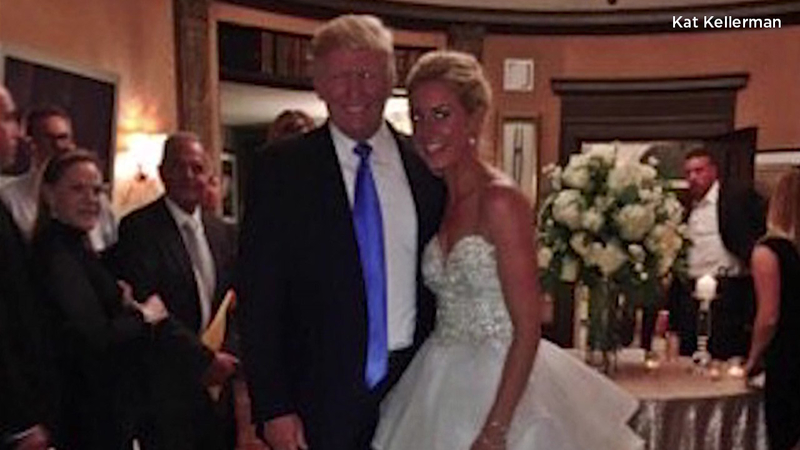 Trump Crashes Wedding.Raw President Trump Crashes Wedding In Nj