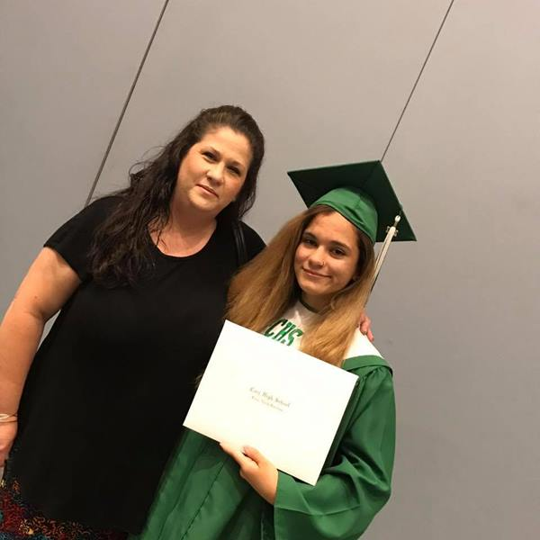 "<div class=""meta image-caption""><div class=""origin-logo origin-image none""><span>none</span></div><span class=""caption-text"">My daughter Raven graduated today from Cary High School. (Michele Yaudes Montanez)</span></div>"