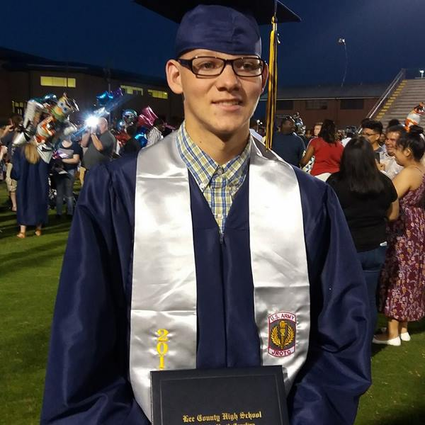 "<div class=""meta image-caption""><div class=""origin-logo origin-image none""><span>none</span></div><span class=""caption-text"">My oldest son Jonathan Hatt graduated from Lee Senior High Thursday night! Now on to his sister next year. (Heather Gardner)</span></div>"