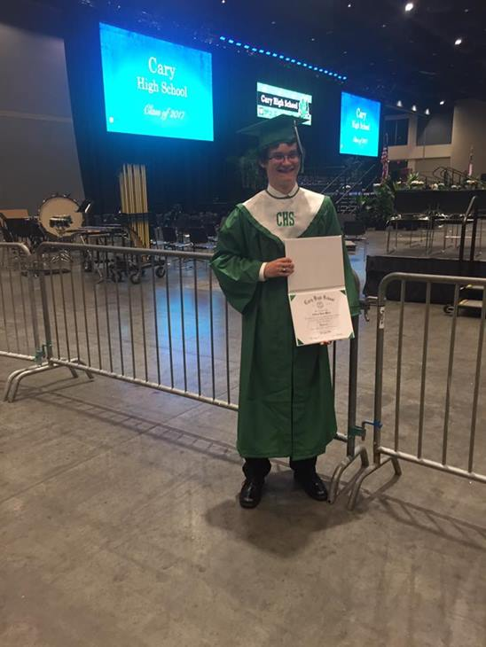 "<div class=""meta image-caption""><div class=""origin-logo origin-image none""><span>none</span></div><span class=""caption-text"">My son Andrew Moore graduated from Cary High School. (Diana Moore-Campbell)</span></div>"