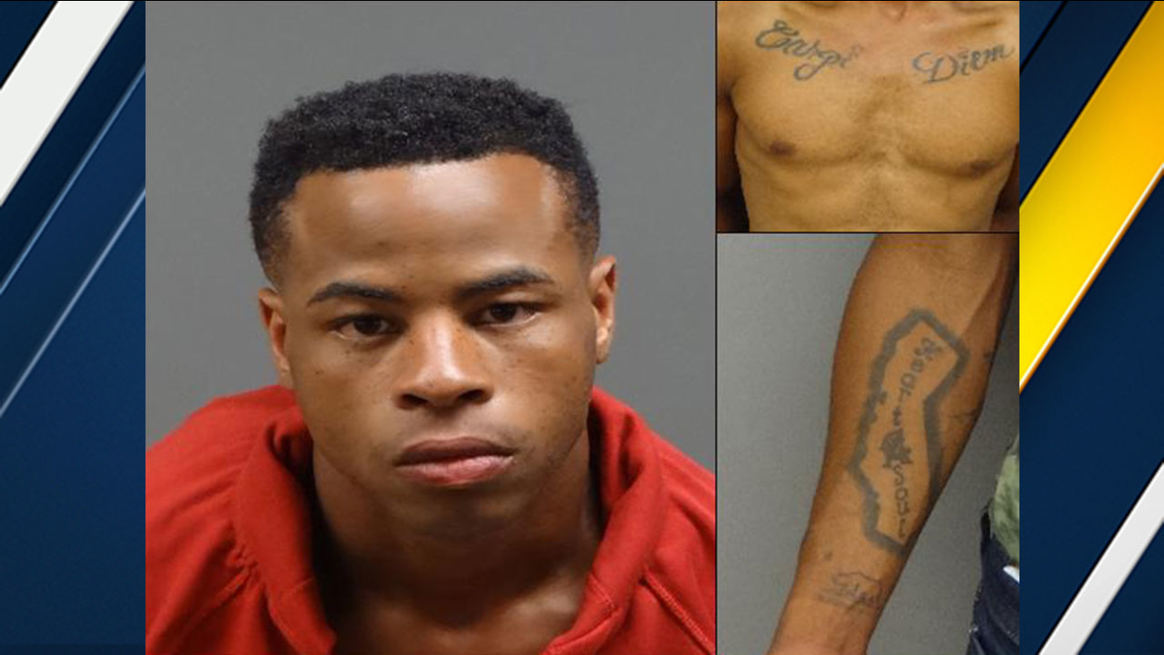 Sammeon Christian Waller, 25, is wanted for the attempted murder of his grandfather in Pomona.