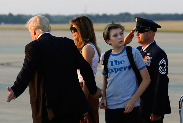 J Crew Barron Trump S The Expert T Shirt Sold Out Years Ago