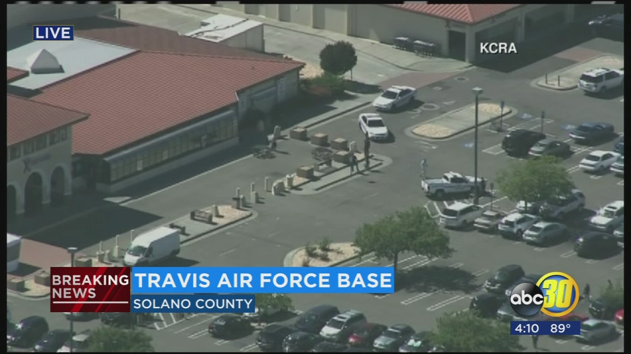 Travis Air Force Base reports lockdown due to 'security incident'