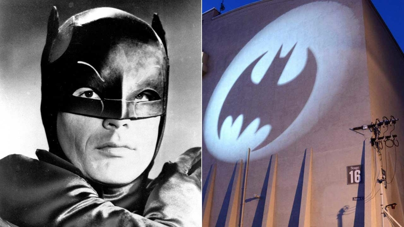Batlight Shines On Line For Dark Knight >> Bat Signal To Light Up Los Angeles City Hall In Tribute To Adam West