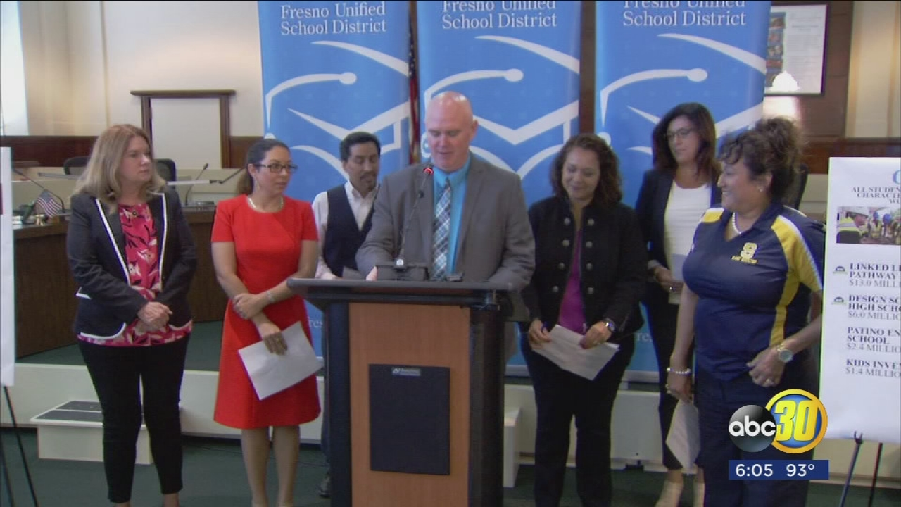 Millions of dollars being dedicated to new programs for FUSD students for upcoming school year