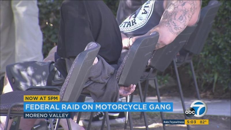 9 alleged members of Vagos biker gang arrested in SoCal