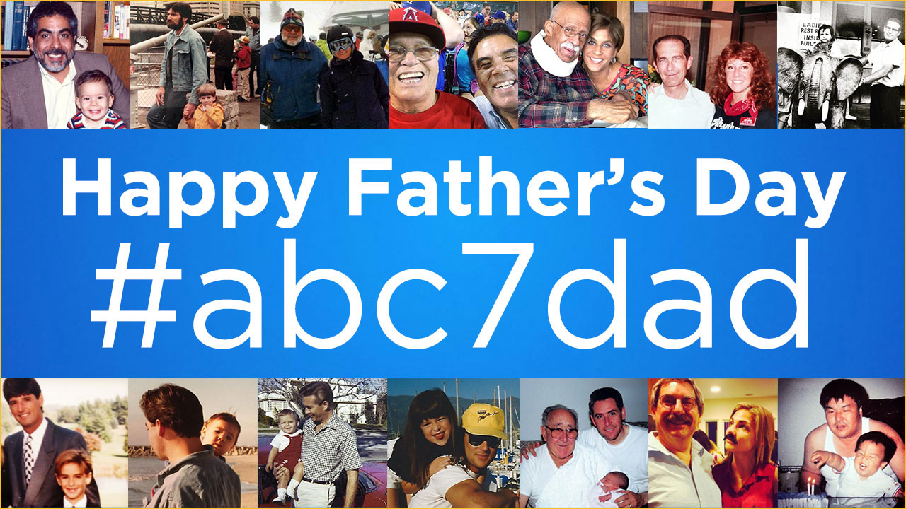 See photos of dads shared by ABC7 viewers in honor of Father's Day.