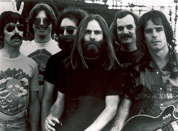 <div class='meta'><div class='origin-logo' data-origin='AP'></div><span class='caption-text' data-credit=''>This undated file photo shows members of the Grateful Dead band, from left to right, Mickey Hart, Phil Lesh, Jerry Garcia, Brent Mydland, Bill Kreutzmann, and Bob Weir.</span></div>