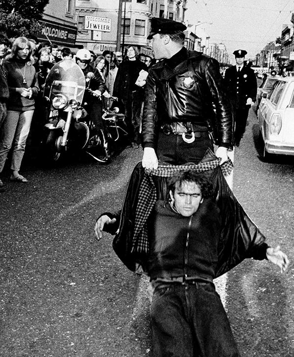 <div class='meta'><div class='origin-logo' data-origin='AP'></div><span class='caption-text' data-credit=''>Hippies in the Haight-Ashbury district created a quite a traffic jam with their Easter parades, March 26, 1967, San Francisco, Calif.</span></div>