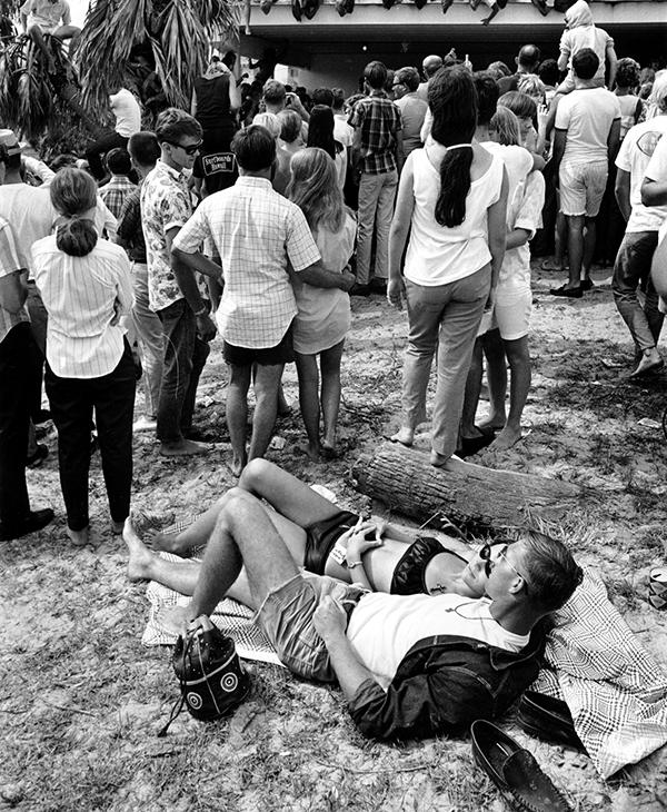 <div class='meta'><div class='origin-logo' data-origin='AP'></div><span class='caption-text' data-credit='AP Photo'>A young couple stretches out on the grass during a &#34;love in&#34; in Lantana Beach, Fla., on June 12, 1967.</span></div>