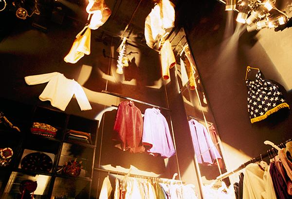 <div class='meta'><div class='origin-logo' data-origin='AP'></div><span class='caption-text' data-credit='AP Photo'>Fashions of the day are for sale in a boutique in  &#34;The Electric Circus&#34; nightclub on St. Marks Place in the East Village in New York, Nov. 13, 1967.</span></div>