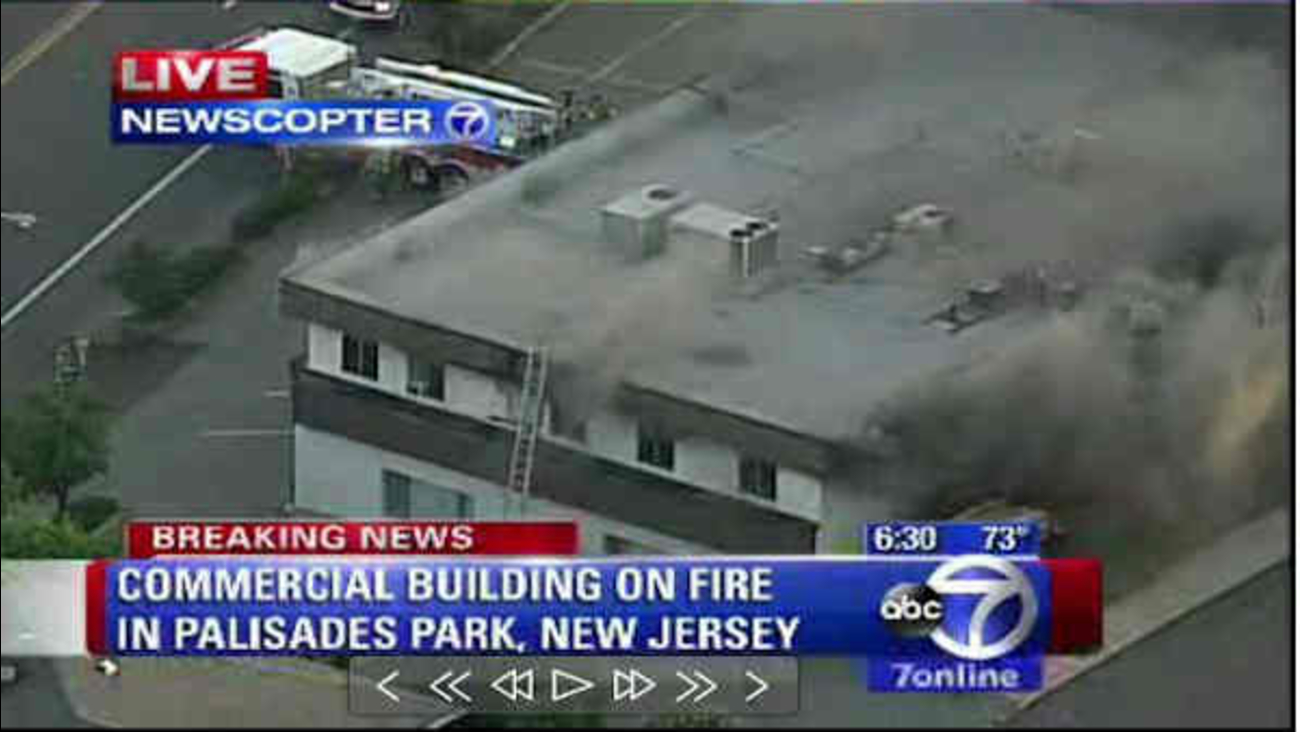 Cause of smoky fire in Palisades Park under investigation