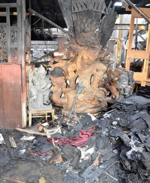 """<div class=""""meta image-caption""""><div class=""""origin-logo origin-image none""""><span>none</span></div><span class=""""caption-text"""">The Oakland Fire Department shared this after photo from the deadly Ghost Ship fire in Oakland, Calif. in their report released Monday, June 19, 2017. (Photo by the Oakland Fire Department)</span></div>"""