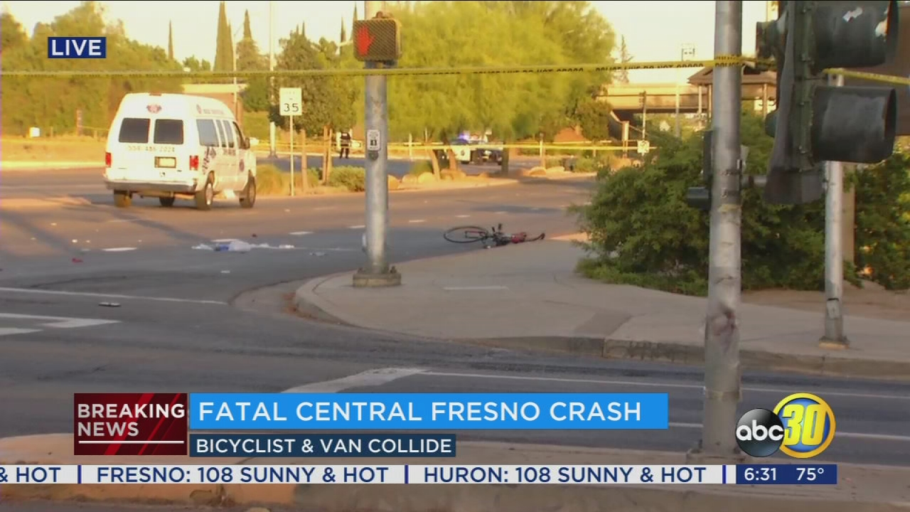 Man On Motorized Bicycle Killed After Colliding With Van