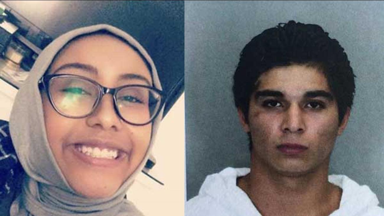Nabra Hassanen and Darwin Martinez Torres.