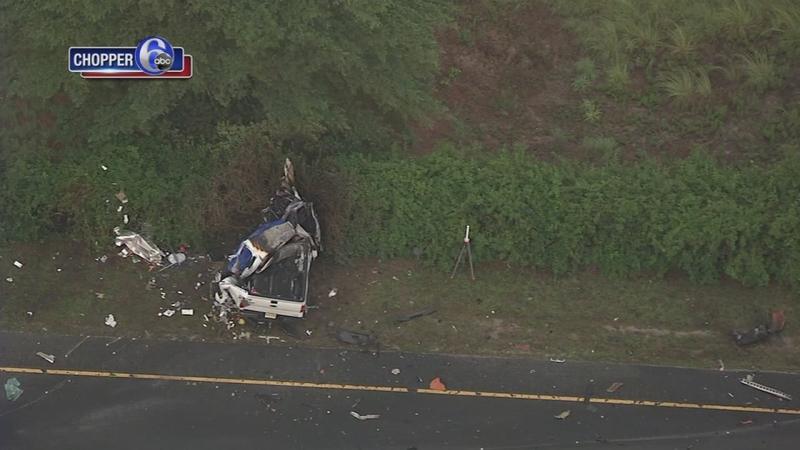 Fatal crash involving pickup, dump truck on Route 55