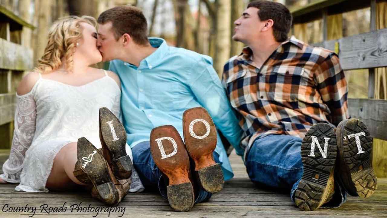 Heartbroken Best Man Poses With Couple In Wedding Photo Shoot 6abc Philadelphia