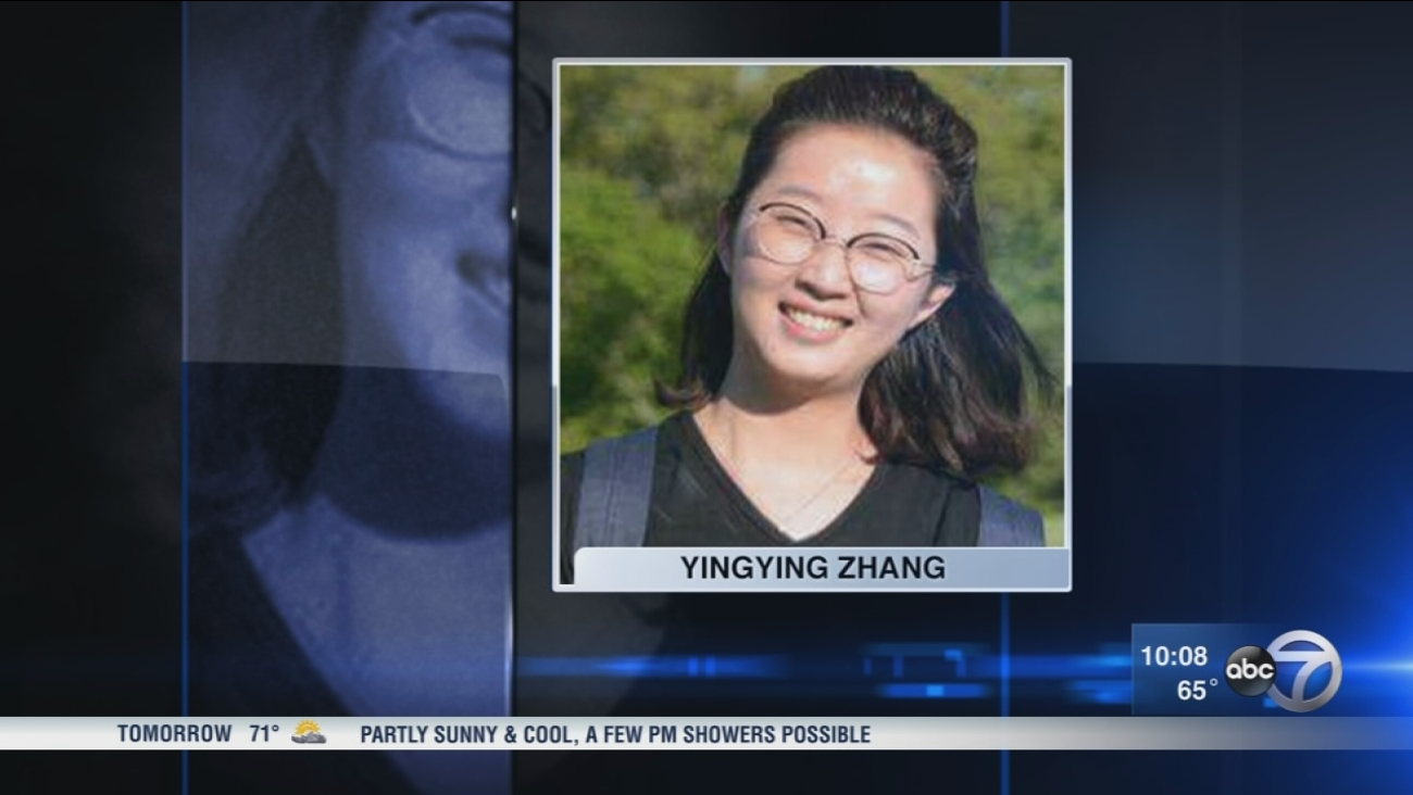 Search continues for missing Chinese scholar