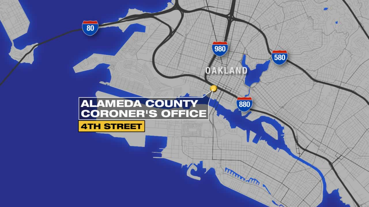 The Coroner's office in Oakland was evacuated after some workers felt sick from the smell of a decomposing body.