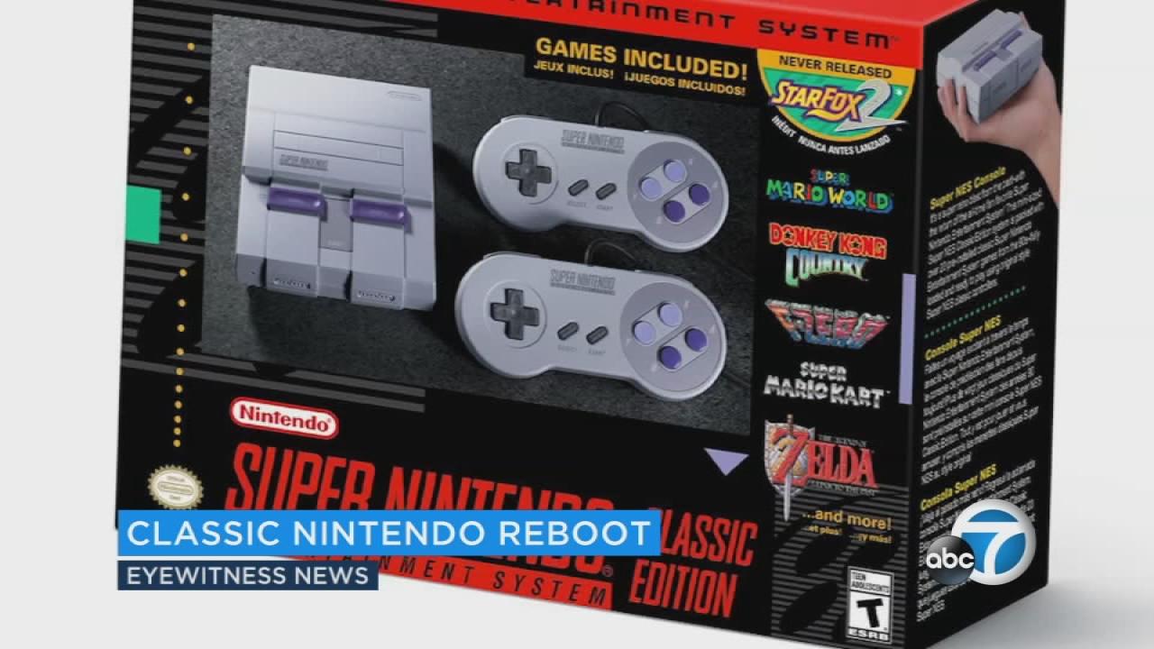 Nintendo Releasing Mini Super Nes Classic Edition Abc7chicagocom