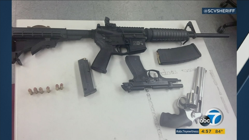 Teens arrested in Santa Clarita carrying guns for birthday 'prank'