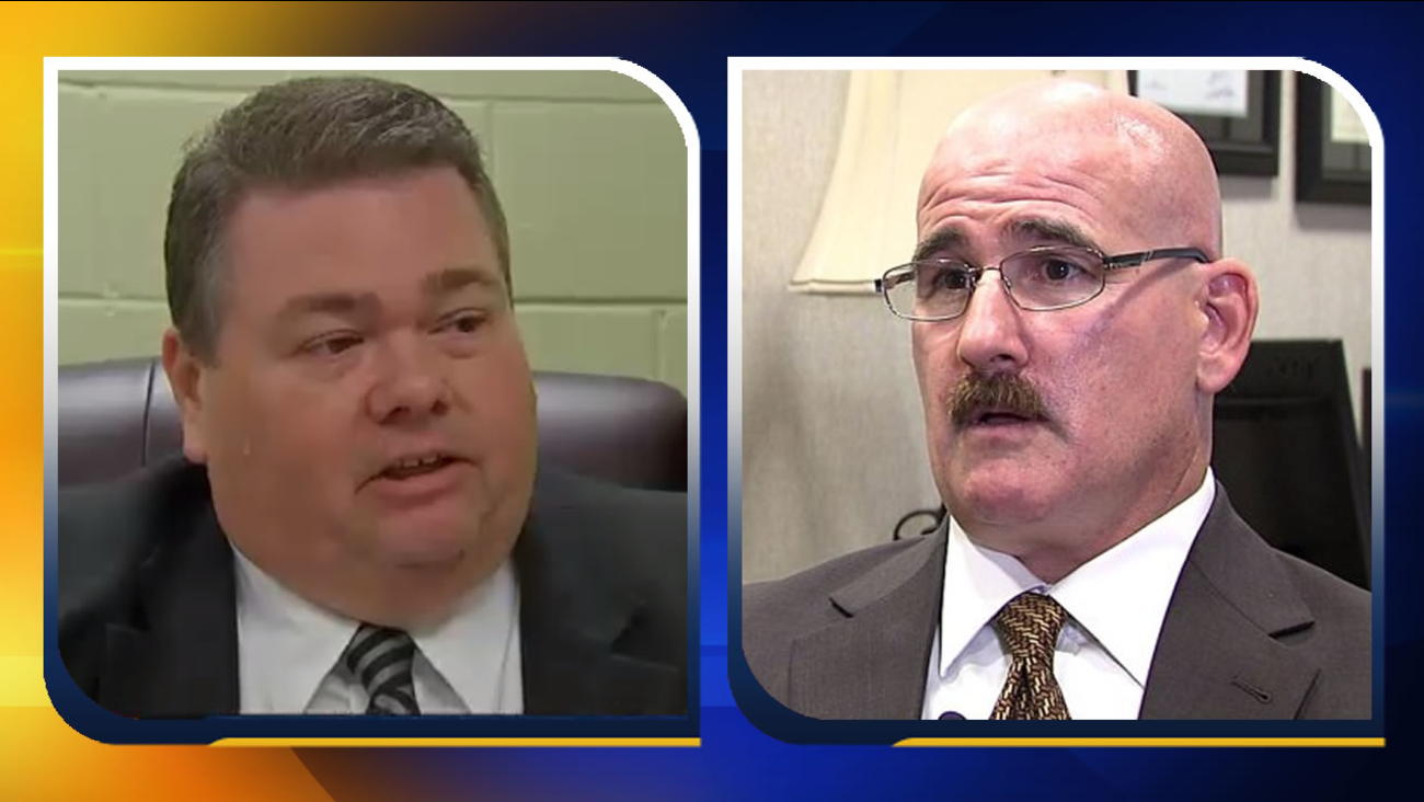 Wallace Bradsher and Craig Blitzer (2nd image courtesy WGHP-TV)