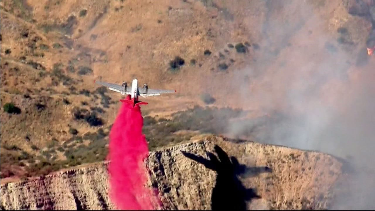 The Manzanita Fire burning in Southern California has grown to 5,000 acres and just 10 percent containment on Tuesday, June 27, 2017.