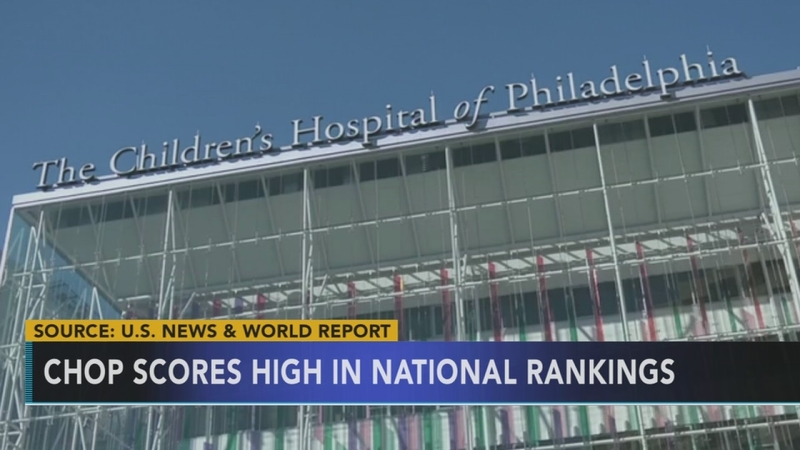 CHOP scores high in national rankings