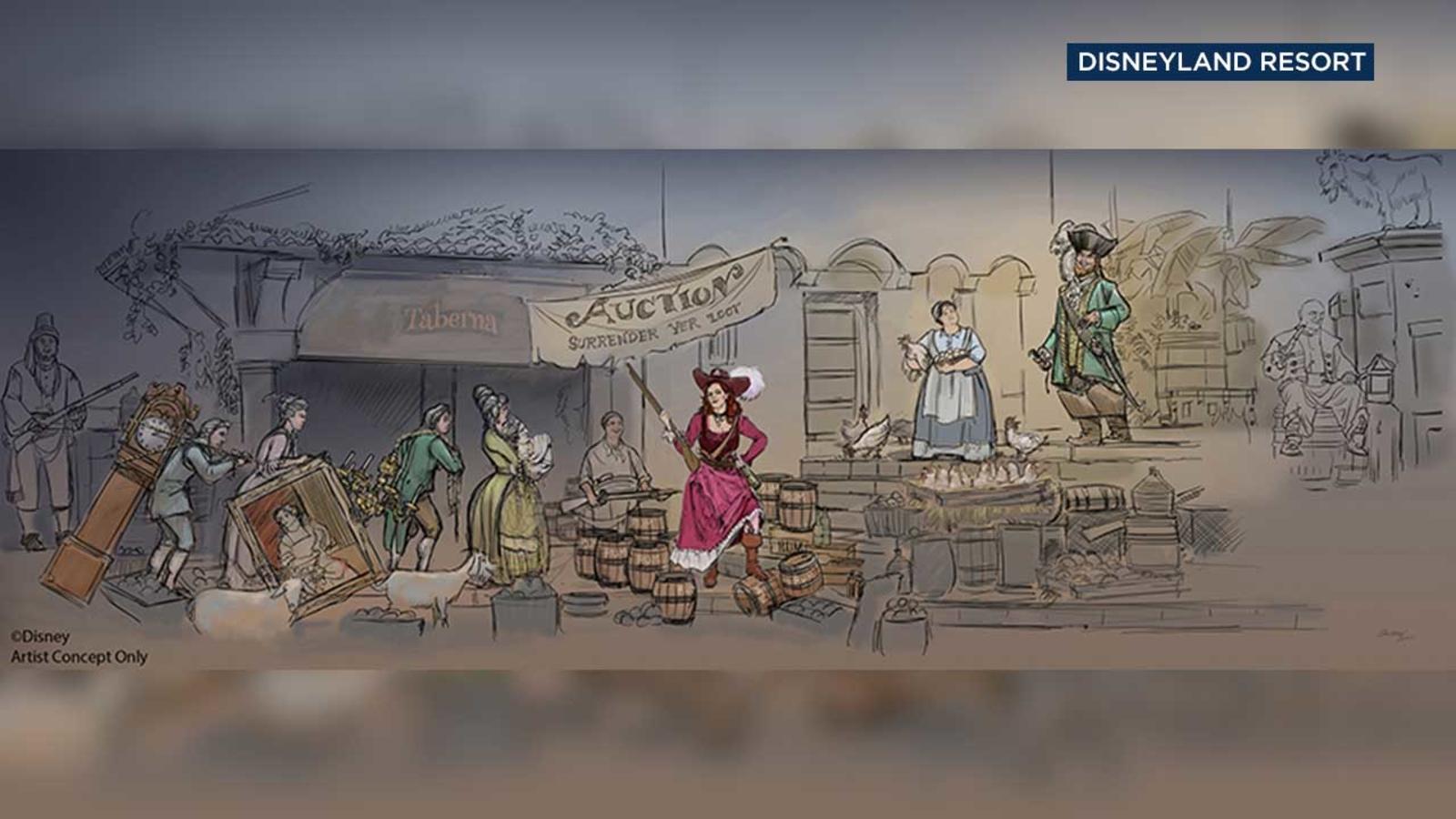 Disneyland Makes Big Change To Pirates Of The Caribbean Ride Abc7 San Francisco
