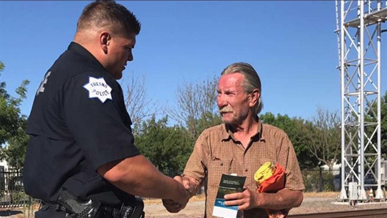 Fresno Police Officer Hull and Robert Snider