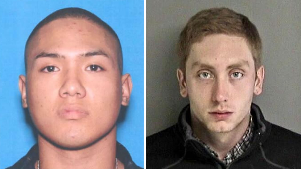 U.S. Marine Andrew Silva, pictured left, was hit and killed by alleged drunk driver Alexander Yohn, pictured right, in Fremont.