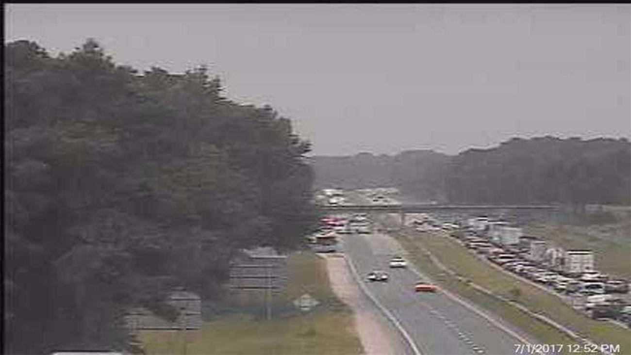 I-95 crash, Harnett County