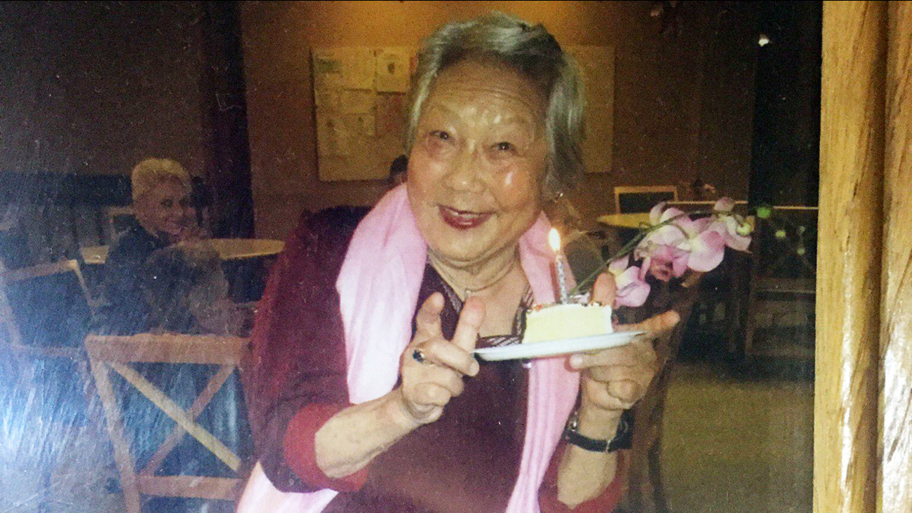 This undated photo shows Liwen Huang who has been reported missing in Sunnyvale, California.