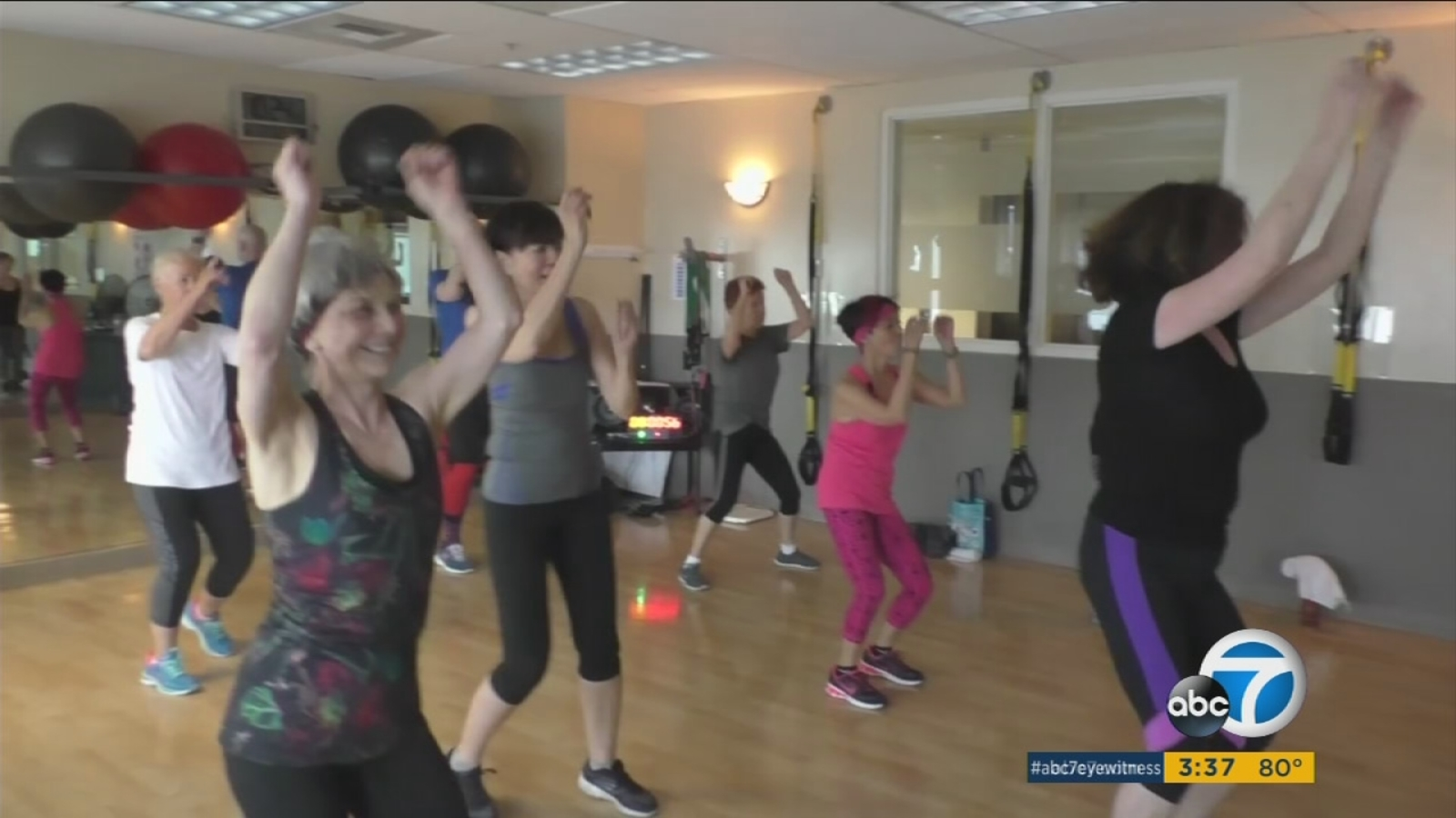 Working Out Over The Age Of 90 Seniors Share Secrets Abc7 Los Angeles