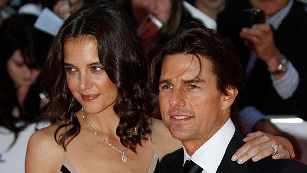 <div class='meta'><div class='origin-logo' data-origin='AP'></div><span class='caption-text' data-credit=''>Katie Holmes and Tom Cruise</span></div>