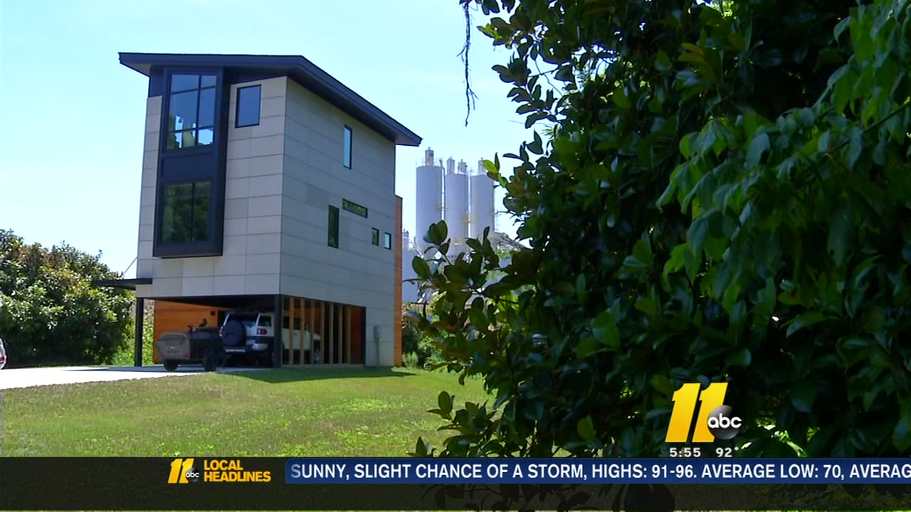 Unlocking The Mystery Of A Modern Home Off Wade Avenue And Capital Boulevard Abc11